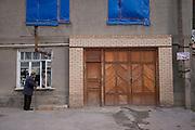 Street life in Samarkand on 22nd February 2014 in Uzbekistan.
