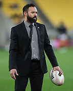 Canterbury Head Coach, Joe Maddock during the Mitre 10 Cup rugby match between the Wellington Lions & Canterbury at Westpac Stadium, Wellington. Friday 23rd August 2019. Copyright Photo: Grant Down / www.Photosport.nz