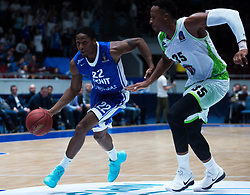 November 8, 2017 - Saint Petersburg, Russia - Demonte Harper of Zenit St. Petersburg (L) and Kenny Kadji of Tofas Bursa vie for the ball during the EuroCup Round 5 regular season basketball match between Zenit St. Petersburg and Tofas Bursa at the Yubileyny Sports Palace in St. Petersburg, Russia, November 08, 2017. (Credit Image: © Igor Russak/NurPhoto via ZUMA Press)