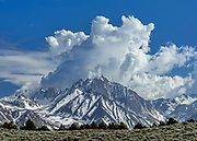 Mount Morrison and Cloud Formation, Inyo National Forest, Mono County, California
