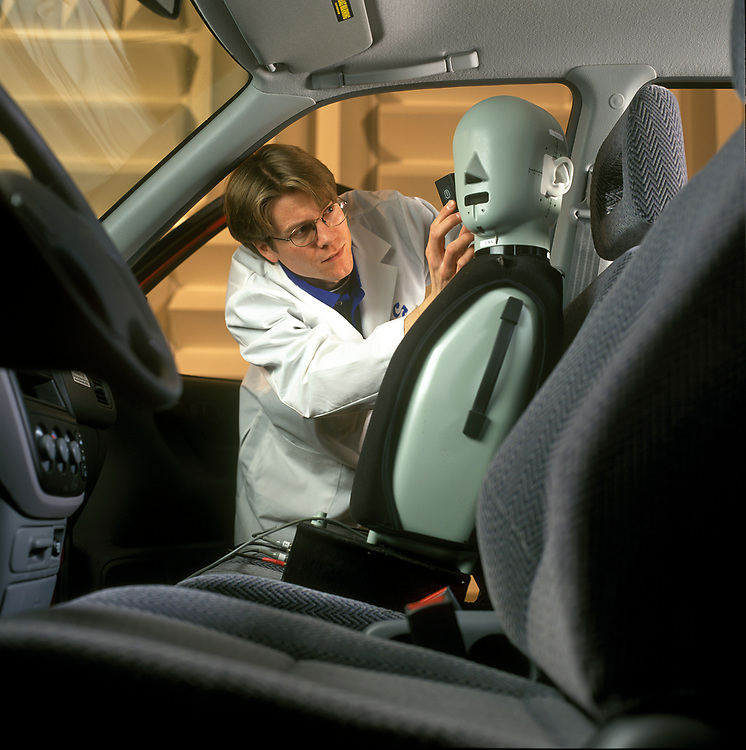 Automotive Acoustical Testing Chamber, Michigan