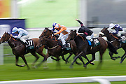 Jockeys at Ascot Racecourse, Berkshire, England, United Kingdom
