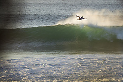 July 19, 2017 - Jeffreys Bay, South Africa - FILIPE TOLEDO of Brazil started the resurf of Round Four Heat 3 of the Corona Open J-Bay by boosting a massive aerial to post a near perfect 9.00 point ride at Supertubes, Jeffreys Bay, South Africa. (Credit Image: © Rex Shutterstock via ZUMA Press)