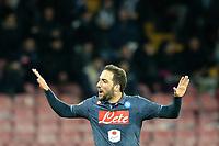 Gonzalo Higuain Napoli, <br /> Napoli 26-01-2015 Stadio San Paolo <br /> Football Calcio Serie A Napoli SSC- Genoa CFC<br /> Foto Cesare Purini / Insidefoto