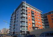 New apartments on Orwell quay, Wet Dock, Ipswich, Suffolk