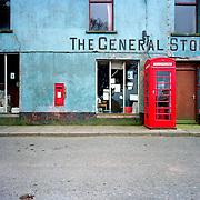 K6 phoneboxes in rural Wales