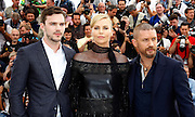 NICHOLAS HOULT, CHARLIZE THERON and TOM HARDY  - PHOTOCALL FILM 'MAD MAX' - 68TH CANNES FILM FESTIVAL <br /> ©Exclusivepix Media