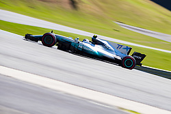 November 10, 2017 - Sao Paulo, Sao Paulo, Brazil - 77 VALTTERI BOTTAS (FIN)  of Mercedes AMG Petronas F1 Team, drives during the free training day for the Formula One Grand Prix of Brazil at Interlagos circuit, in Sao Paulo, Brazil. The grand prix will be celebrated next Sunday, November 12. (Credit Image: © Paulo Lopes via ZUMA Wire)