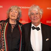 NLD/Amsterdam/20200307 - Boekenbal 2020, Geert Mak en parner