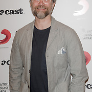 Jamie East attend the Annual award ceremony celebrating the best British podcasts. Supported by Sony Music's on 19 May 2018 at King's Place, London, UK.