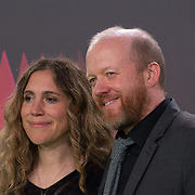Steven Oram arrives at The Phantom of the Open at BFI London Film Festival 2021, 12 October 2021 Southbank Centre, Royal Festival Hall, London, UK.