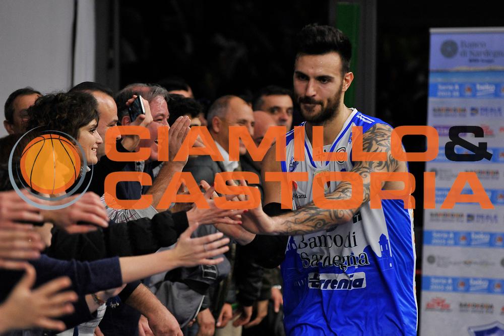 DESCRIZIONE : Campionato 2015/16 Serie A Beko Dinamo Banco di Sardegna Sassari - Grissin Bon Reggio Emilia<br /> GIOCATORE : Brian Sacchetti<br /> CATEGORIA : Ritratto Esultanza Postgame<br /> SQUADRA : Dinamo Banco di Sardegna Sassari<br /> EVENTO : LegaBasket Serie A Beko 2015/2016<br /> GARA : Dinamo Banco di Sardegna Sassari - Grissin Bon Reggio Emilia<br /> DATA : 23/12/2015<br /> SPORT : Pallacanestro <br /> AUTORE : Agenzia Ciamillo-Castoria/C.Atzori