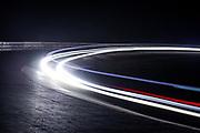 June 19-23, 2019: 24 hours of Nurburgring. Carousel light trails, long exposure