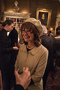 SARAH DUNANT, The Walter Scott Prize for Historical Fiction 2015 - The Duke of Buccleuch hosts party to for the shortlist announcement. <br /> The winner is announced at the Borders Book Festival in Scotland in June.John Murray's Historic Rooms, 50 Albemarle Street, London, 24 March 2015.