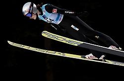 February 7, 2019 - Ljubno, Savinjska, Slovenia - Anna Odine Stroem of Norway competes on qualification day of the FIS Ski Jumping World Cup Ladies Ljubno on February 7, 2019 in Ljubno, Slovenia. (Credit Image: © Rok Rakun/Pacific Press via ZUMA Wire)