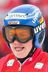 11.03.2010, Kandahar Strecke Damen, Garmisch Partenkirchen, GER, FIS Worldcup Alpin Ski, Garmisch, Lady Giant Slalom, im Bild Rebensburg Viktoria, ( GER, #7 ), Ski Nordica, EXPA Pictures © 2010, PhotoCredit: EXPA/ J. Groder / SPORTIDA PHOTO AGENCY