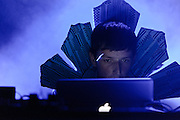 Photos of the band Totally Enormous Extinct Dinosaurs performing at club NASA in Reykjavik for Iceland Airwaves music festival. October 14, 2011. Copyright © 2011 Matthew Eisman. All Rights Reserved.