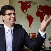 Portrait of VivaCell- Armenia CEO Ralph Yirikian