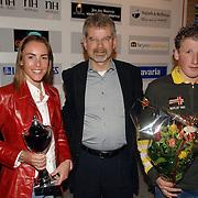 NLD/Bussum/20060530 - Uitreiking Sportprijzen 2005 gemeente Bussum, sportvrouw van het jaar Bernadine Boog, sportman van het jaar Fred Smink