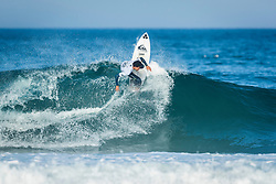 Michael February (ZAF)  placed 4th in Heat 11 of Round Three at EDP BIllabong Pro Cascais 2017 in Cascais, Portugal