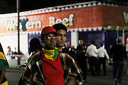 """September 4, 2016- Brooklyn, New York-United States:  J'Ouvert 2016 Celebration succumbs to violence as three are shot and another stabbed at the early morning fete. J'Ouvert derives from a French term """"jour overt"""" meaning day break. It dates back over 200 years when French plantation owners and stemmed from night celebrations where owners imitated slaves. This form of celebration was reversed when freed slaves began to mock their master's behavior and continued to use this form of celebration in remembrance of their emancipation.  (Photo by Terrence Jennings/terrencejennings.com )"""