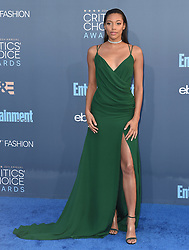 Stars attend the 22nd Annual Critics Choice Awards in Santa Monica, California. 11 Dec 2016 Pictured: Kylie Bunbury. Photo credit: Bauer Griffin / MEGA TheMegaAgency.com +1 888 505 6342