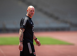 BAKU, AZERBAIJAN - Tuesday, June 8, 2021: Wales' manager Robert Page during a training session at the Tofiq Bahramov Republican Stadium on day one of their UEFA Euro 2020 tournament. (Pic by David Rawcliffe/Propaganda)