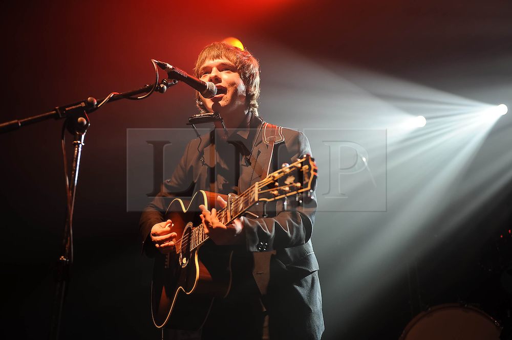 © Licensed to London News Pictures. 12/09/2013. London, UK.   John Lennon McCullagh performing live at Electric Ballroom, supporting headliner The Strypes.   Photo credit : Richard Isaac/LNP