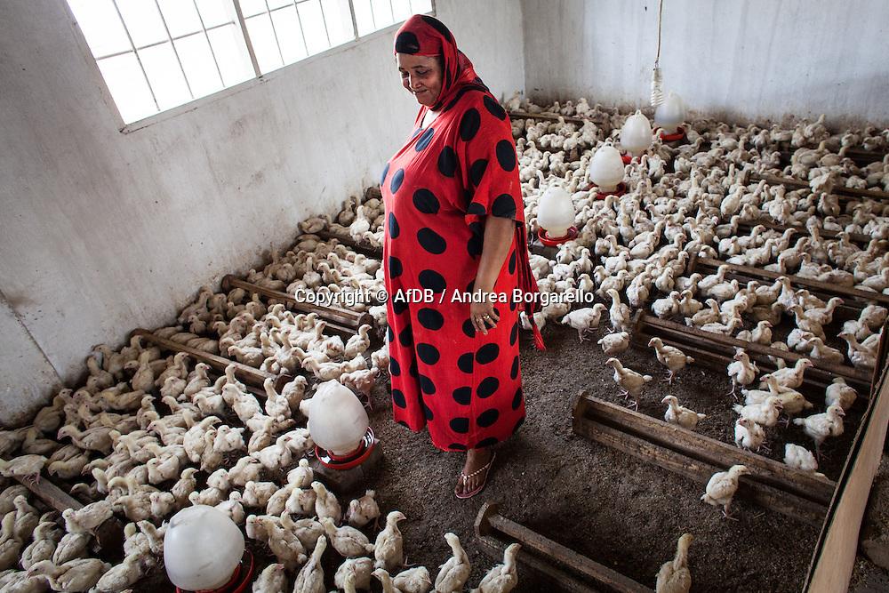 Marian, livestock farming, is an Access Bank Tanzania Micro Credit Client.