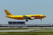 D-AEAB EAT Leipzig DHL Airbus A300B4-622R(F) at Malpensa (MXP / LIMC), Milan, Italy
