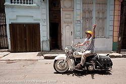 1-Man parade. Havana, Cuba. 2009<br /> <br /> Limited Edition Print from an edition of 20. Photo ©2009 Michael Lichter.
