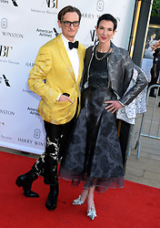 Hamish Bowles and Amy Fine Collins attending the American Ballet Theatre Spring Gala at The Metropolitan Opera House on May 21, 2018 in New York City, NY, USA. Photo by Dennis Van Tine/ABACAPRESS.COM
