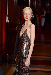 Andrea Riseborough attending the afterparty for The Irishman as part of the BFI London Film Festival 2019 held at Freemasons Hall in London.