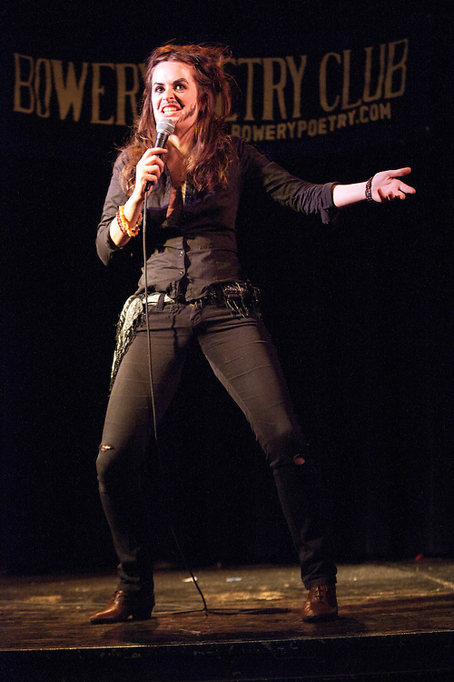 Schtick or Treat - November 1, 2011 - Bowery Poetry Club - Amber Nelson