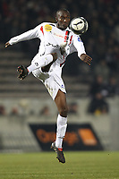 FOOTBALL - FRENCH CHAMPIONSHIP 2009/2010 - L1 - GIRONDINS BORDEAUX v US BOULOGNE - 30/01/2010 - PHOTO ERIC BRETAGNON / DPPI - BIRA DEMBELE (BOU)
