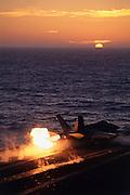 F.A-18C Hornet afterburner takeoff
