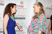 Jenni Luke, Executive Director, Step Up Women's Network and Molly Sims