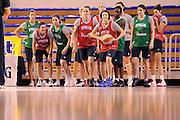 Parma 14 Febbraio 2012 <br /> Nazionale Italiana Femminile Allenamento<br /> Nella foto: team, giorgia sottana<br /> Foto Ciamillo