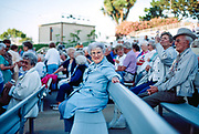 Grandmother at ampitheater in Leisure World when Tony Martin performed.