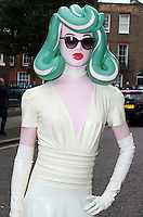 Pandemonia, London Fashion Week SS17 - Julien Macdonald, Seymour Leisure Centre, London UK, 17 September 2016, Photo by Brett D. Cove