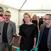 NLD/Amsterdam/20130601- Amsterdam diner 2013, Mabel van Oranje en ontwerpers Victor & Rolf,