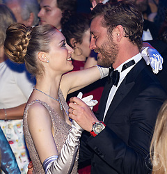 Pierre Casiraghi and Beatrice Casiraghi attend the Rose Ball 2019 at Sporting in Monaco, Monaco. Photo by Palais Princier/Gaetan Luci/SBM/ABACAPRESS.COM