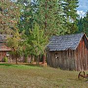 Wooden Shacks - Golden, Oregon - HDR