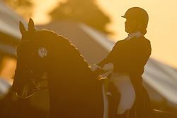 Hallion Denise (RSA) - Wervelwind<br /> CDI3* Grand Prix Freestyle <br /> Royal Windsor Horse Show 2014<br /> © Hippo Foto - Jon Stroud