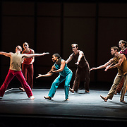 """Mark Morris Dance Group perfoms """"Excursions"""" at Libbey Bowl on June 7, 2013 in Ojai, California."""