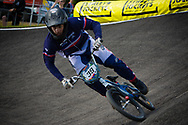 #39 (ANDRE Sylvain) FRA at the UCI BMX Supercross World Cup in Papendal, Netherlands.