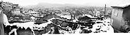 Prizren, Kosovo, in the winter (montage).