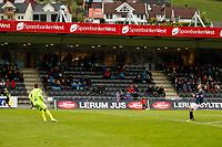 Fotball , 13. mai 2012, Tippeligaen Eliteserien , Sogndal - Viking Nils Kenneth Udjus, Sogndal. Valon Berisha, Viking.<br /> <br /> Foto: Christian Blom , Digitalsport