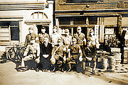 ww2 Japanese soldiers group portrait