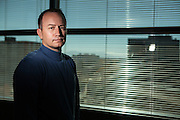 11/17/13 10:53:33 AM -- Albuquerque NM  -- Portait of Jay McCleskey at his office in Albuquerque NM.<br /> <br />  --    Photo by Steven St John